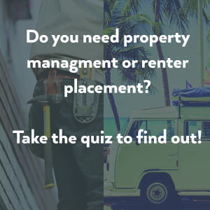 do you need property management or renter placement