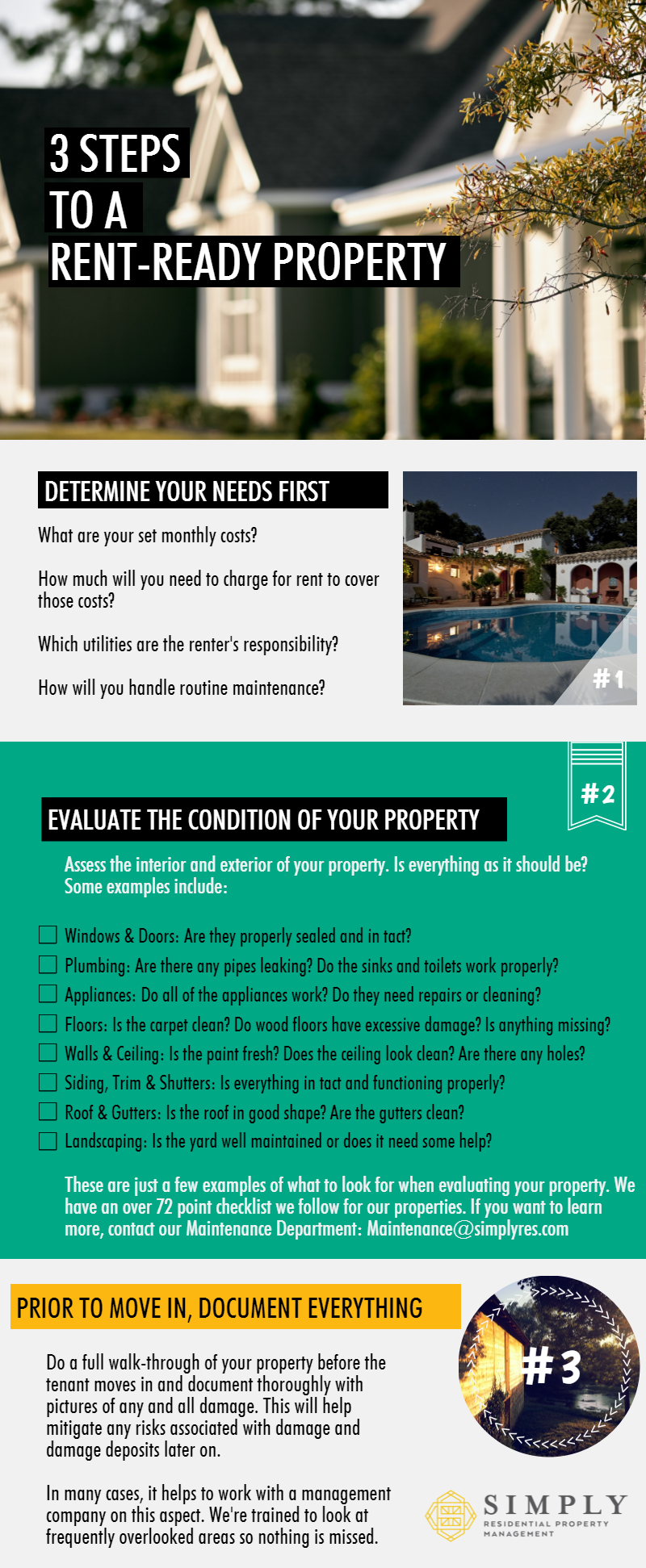 3 steps to a rent-ready property
